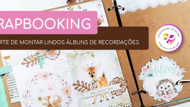Photo of SCRAPBOOKING – A ARTE DE MONTAR LINDOS ÁLBUNS DE RECORDAÇÕES