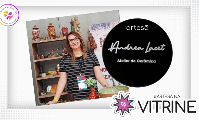 Photo of #ArtesãNaVitrine – Andrea Lacet – Campo Grande-MS