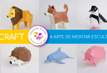 Photo of PAPERCRAFT – A ARTE DE MONTAR ESCULTURAS DE PAPEL